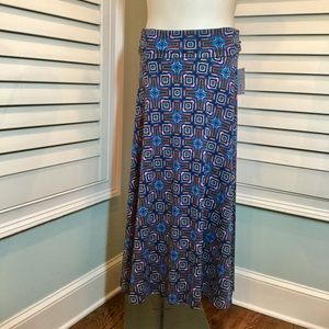 NWT, Lularoe Geometric Maxi Skirt, Small